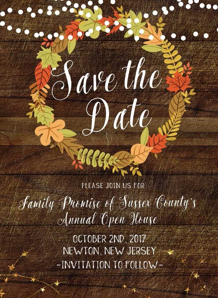 Save the Date 2017 Open House